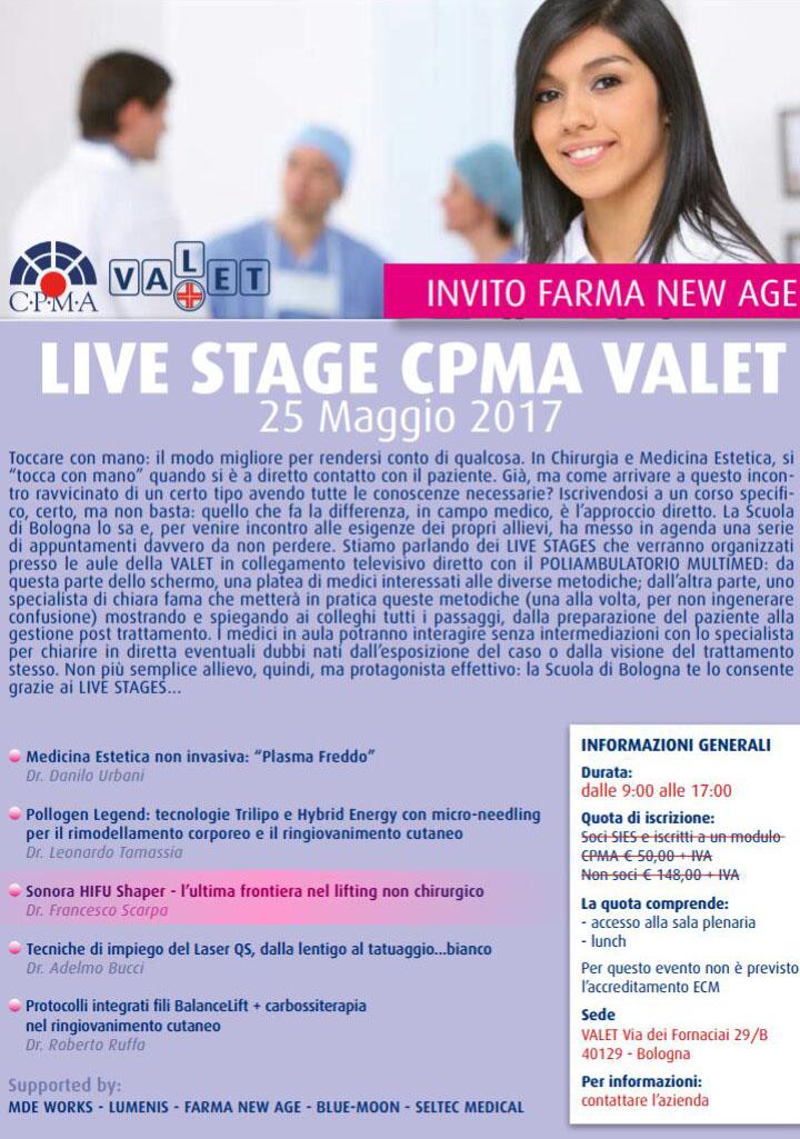 25-05-17 Corso Live Stage di Medicina Estetica
