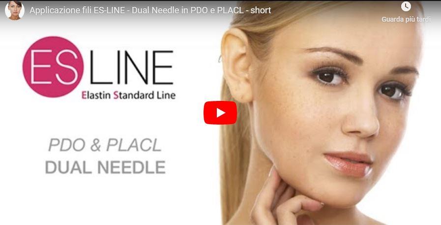 Applicazione fili Dual Needle in PDO e PLACL