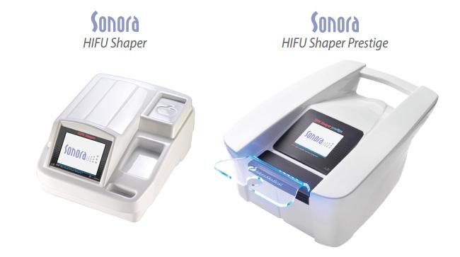 Sonora HIFU Shaper e HIFU Shaper Prestige